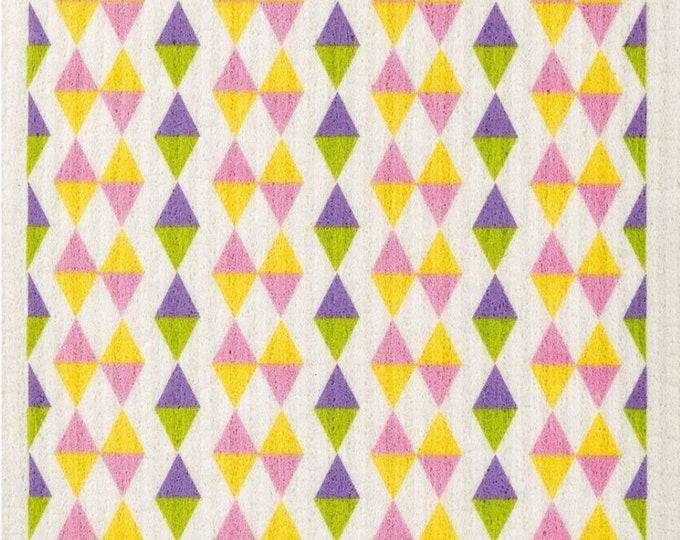 Triangles Pastel Swedish Cloth