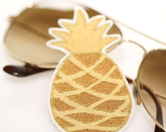 Pineapple Patch - Iron-On - Gold