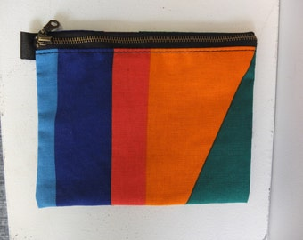One of a Kind Geometric Pouch