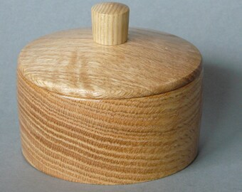 PO015 Pot salt salt oak/turnkey