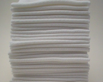 Unpaper Towels - Double Bakers Dozen of Reusable Cotton Wipes
