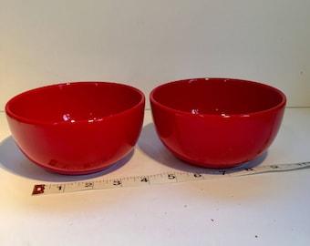 Fin Factory Beautiful Red Glazed Bowl By Waechtersbach Dishwasher Safe