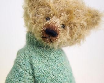 OOAK handmade mohair BereguodBears teddybear Sven