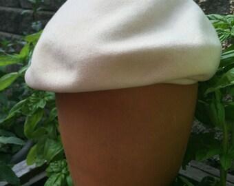 Vintage ladies hat, Glenover hat, Henry Pollak, Vintage Beret, 60's fashion, theater prop, Wool Tam, Women's Beret, Mad Men Style,Wool Beret