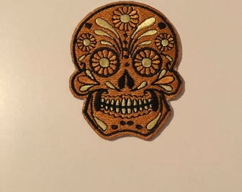 Gorgeous skull patch