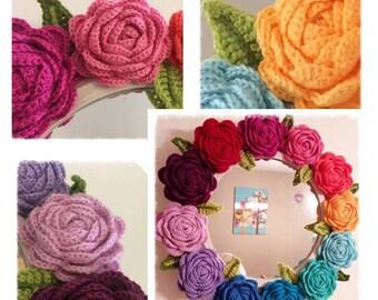 Happy Rose Crochet Pattern