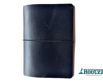 A5 travelers notebook Black crackle -midori - fauxdori