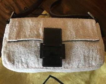FENDI Baguette bag with pink sequins - New