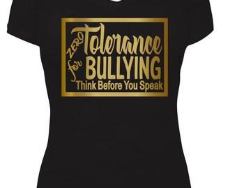 ZERO TOLERANCE - BULLYING