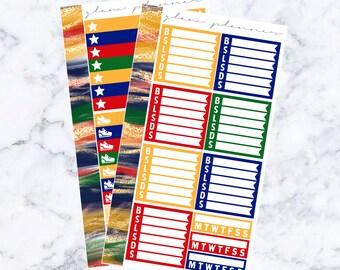 PRE-SALE! Lumos Wellness Kit (Glam Planner Stickers for Erin Condren Life Planner)