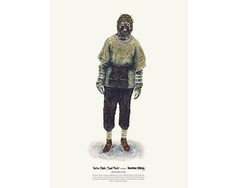 He Wears It 008 - Tusken Raider (Sand People) wears Number (N)ine R.I.P   (limited edition)