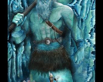 Icegiant viking Fine-Art print 30x40cm