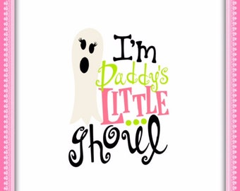 Daddy's Little Ghoul/Iron-ons/Heat Transfer/Shirts/Halloween