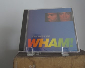 WHAM, The Best of Wham, CD, unopened, 1997, sealed, mailed from Canada