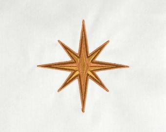 New Wonder Woman star machine embroidery design 4x4