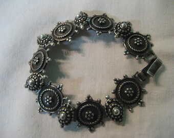 S 30g A VICTORIAN Epoque BRACELET Woman s Choice 925 Sterling SILVER