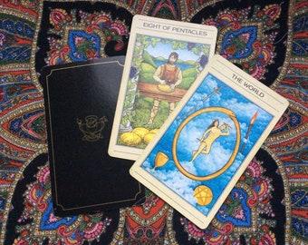 Tarot 3-card energy capture