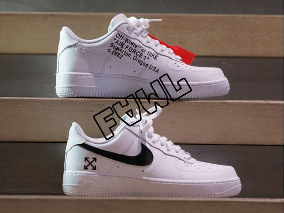 scarpe off white nike air force