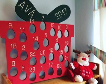 Kinder Egg Holder Wooden Advent calendar