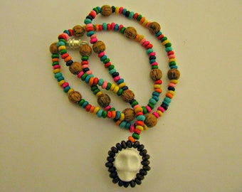 Day of the Dead Mexican Necklace