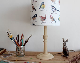 Garden Birds Pattern Lampshade