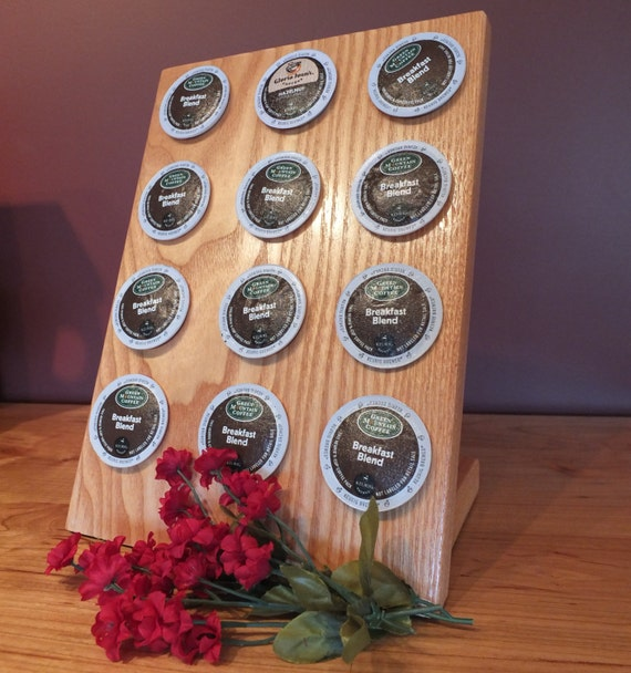 Coffee Pod Holder. Solid Coffee Tree  Coffee Pod Holder. Great Kitchen Gift, Housewarming Gift, Gourmet Gift, Christmas Gift.