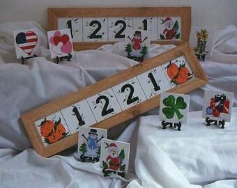 frames for home address hand made