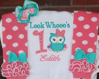 Owl 1st birthday Etsy