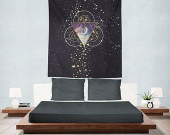 Stargazer, Tapestry, Wall Hanging, Wall Tapestry, Wall Decor, Wall Tapestries, Boho Decor, Star Wall Hanging, Home, Decor, Wall Art, Gift