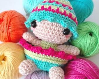 Bunny And Egg Crochet Pattern PDF, Amigurumi Pattern, Patrón De Ganchillo, Patrón PDF, Patrón Amigurumi, Easter, Pascua, DarisBleu