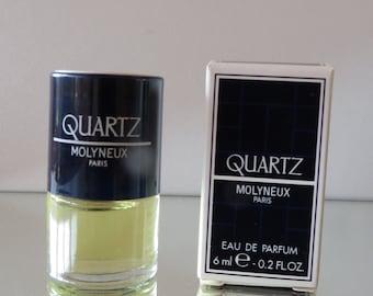 Quartz by Molyneux - FULL - Miniature perfume bottle - Eau de Toilette Parfum-
