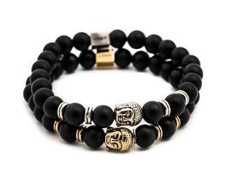 Buddha Bracelet   Bead Bracelet   Bracelet For Men   Bracelets For Men   Beaded Bracelet   Mens Bead Bracelet   Boyfriend Gift
