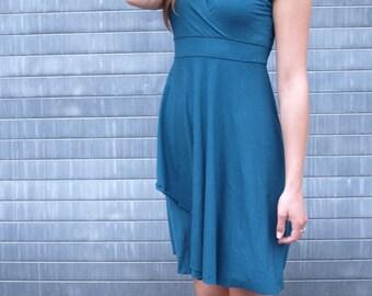 Organic Cotton V-Neck Sleeveless Dress