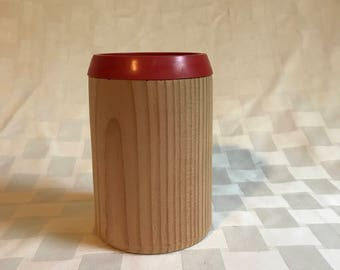 Wood Turned Cozie/Can Cozie/Bottle Cozie/Drink Cozie
