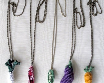 amigurumi necklace