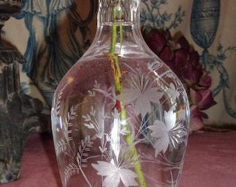 A nice old bottle, flower vase, antique vase