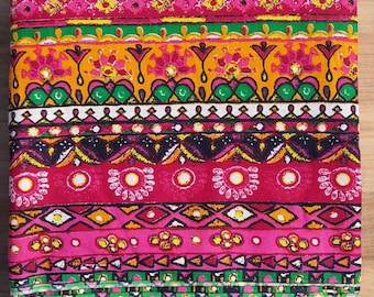 10 yards Block print Fabric,Indian  Fabric ,Cotton Fabric,Printed Fabric,Block Print Fabric , Wholesale Fabric ,Christmas Gift ,Border Print