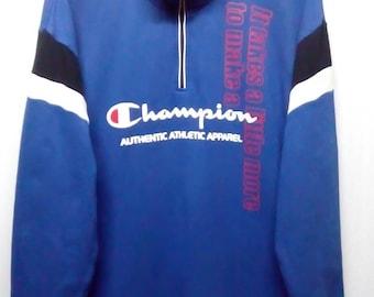 rare!!! Champion sweatshirt big spellout logo