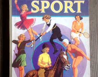 Every Girl's Book Of Sport. 1951.