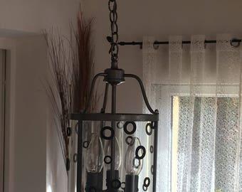Vintage ceiling light revamps