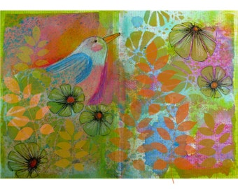 Fabric Sketchbook Page 7