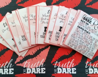 Couple's Truth or Dare Printable Game