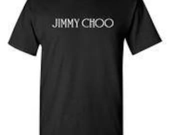 Jimmy Choo Black T-Shirt
