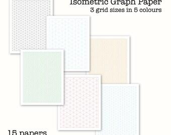 Graph paper pdf | Etsy