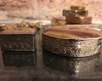 Two decorative boxes