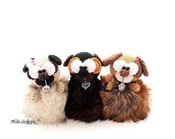 dogs - crochet pattern by mala designs ®