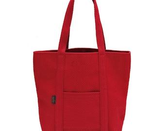 Tote Bag 50 - Traditional Judo Uniform Fabric Red