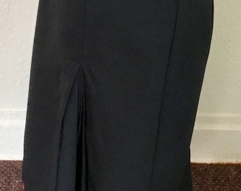 1960's Vintage Navy Blue Skirt