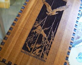 6.5 x 3.8 x 2 Forest Flight Cedar Tarot Box