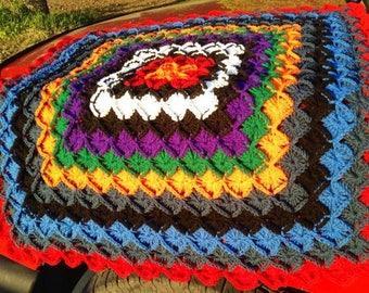 Bavarian Crochet Primaries Lapghan - SALE: 66% OFF!